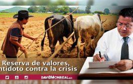 Reserva de valores, antídoto contra la crisis.