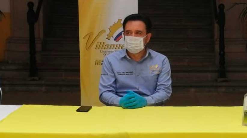 Encabeza Miguel Torres decimocuarta entrega de apoyos en Villanueva.
