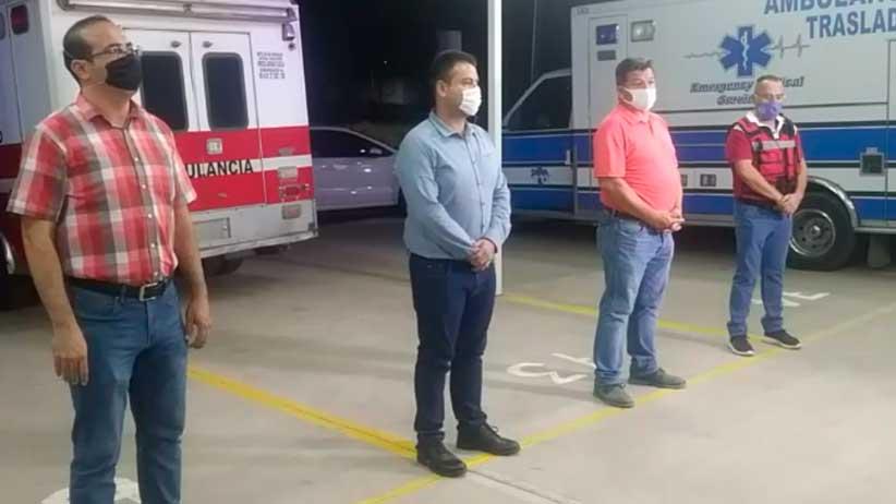 En Vivo | Entrega de apoyó alimentario a personal de Protección Civil y Bomberos de Tlaltenango