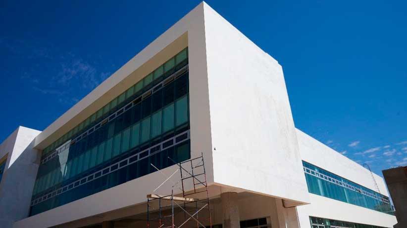 Al 82%  Centro de Servicios de Atención a la Ciudadanía en nueva alcaldía de Fresnillo.