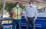 Peñasquito entrega donativo a Conagua para la prevención del COVID-19