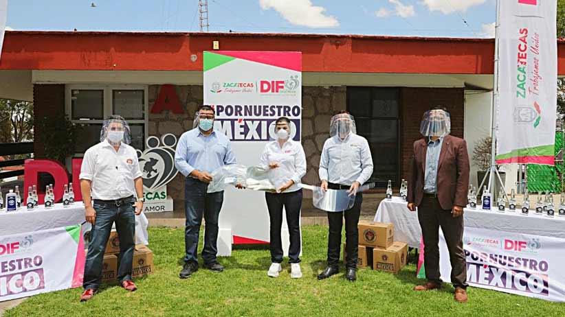 Peñasquito dona insumos médicos para enfrentar el COVID-19