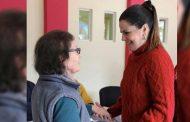 Anuncia Presidenta del SEDIF 2 mil apoyos económicos para adultos mayores de 65 años.
