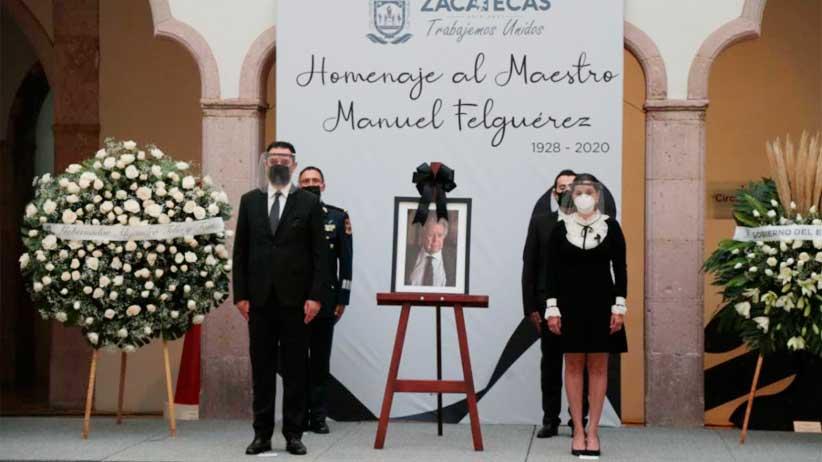Zacatecas Homenajea a su gran Artista Manuel Felguérez.