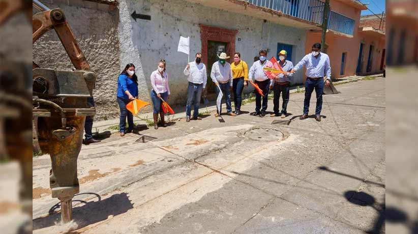Arranca rehabilitación de red hidrosanitaria en Atolinga