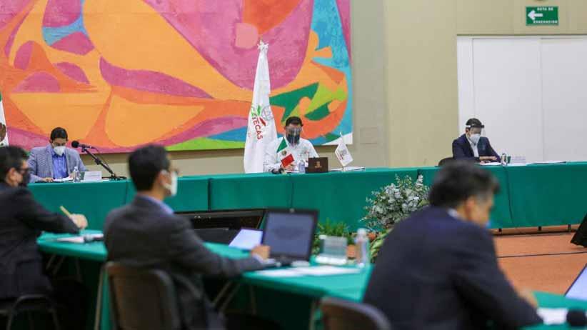 Llama Gobernador Alejandro Tello a un gran acuerdo para el rescate del Issstezac