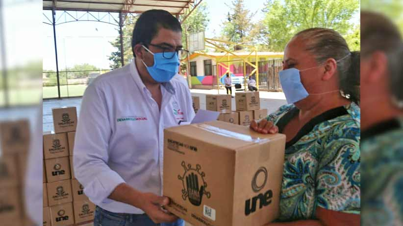En Francisco R. Murguía y Miguel Auza reciben apoyos alimentarios y de empleo temporal