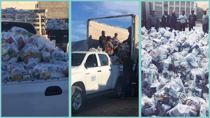 Lleva Gregorio Macías más de 15 mil apoyos alimentarios a comunidades de Mazapil