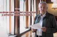 Video: Decálogo para salir del coronavirus y enfrentar la nueva realidad.