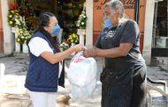 Boleros de Zacatecas y Guadalupe reciben apoyos alimentarios del SEDIF
