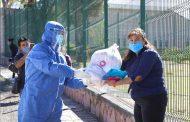 Beneficia SEDIF con apoyos alimentarios al gremio de meseros