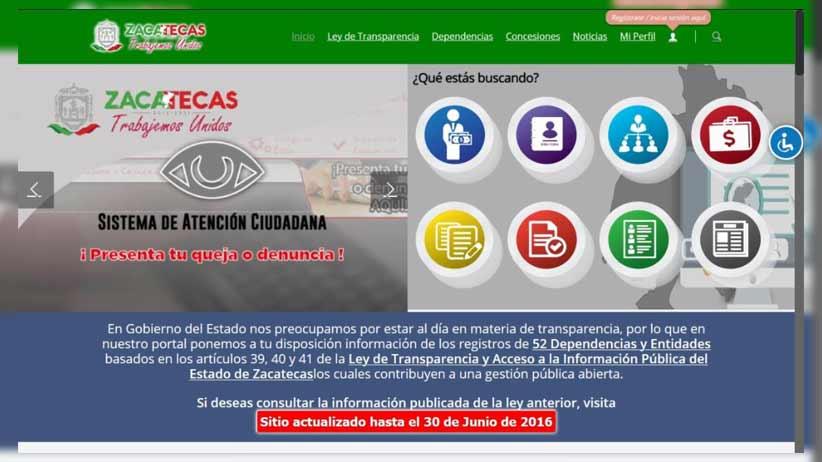 Por tercera ocasión, destaca Zacatecas a nivel nacional en transparencia