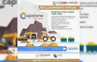 Mediante el SNE, empresa Capstone ofrecerá vacantes para el sector minero