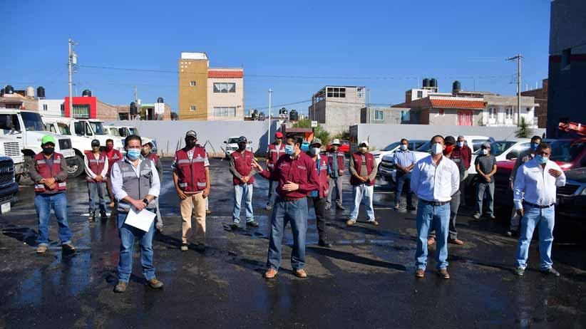 Entrega Julio César Chávez, rehabilitación de instalaciones en Servicios Públicos