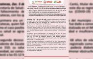 Con tres fallecimientos por COVID-19 registrados este día, crece a 47 la cifra de decesos en Zacatecas