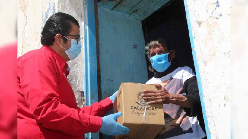 Al 86%, entrega de apoyos emergentes para familias vulnerables durante contingencia: Sedesol