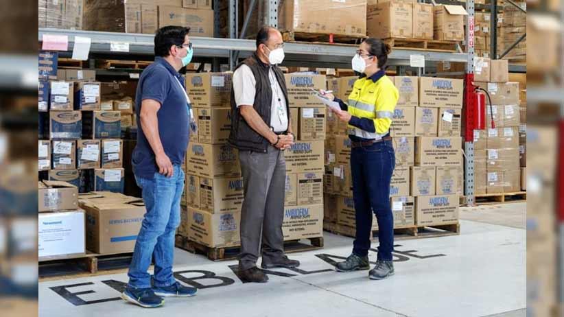 Dona Peñasquito 5 mil mascarillas y 2 mil cajas de guantes para personal de  médico de la SSZ.