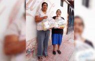 Concluye tercera etapa de entrega de apoyos a familias Mazapilences.