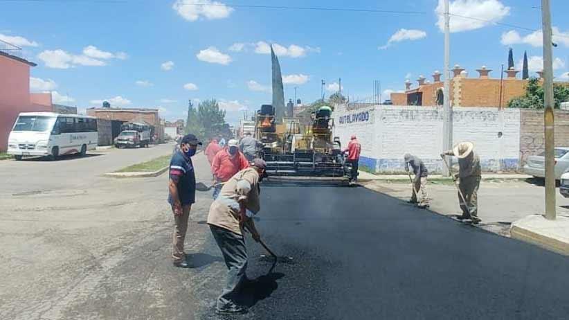 Continúa Gobierno de Zacatecas con rehabilitación y limpieza de vialidades en distintos municipios.