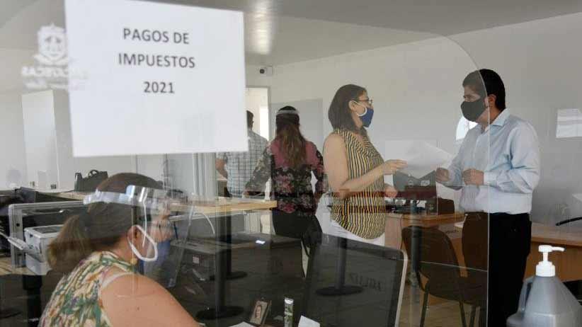 En Guadalupe,abre secretaría de finanzas nuevo módulo de atención al contribuyente.