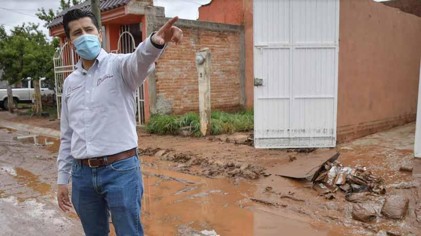 Amplía Gobierno Estatal red eléctrica en Saín Alto.