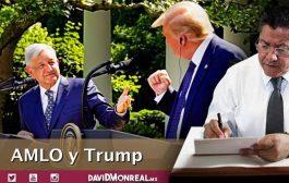 AMLO y Trump.