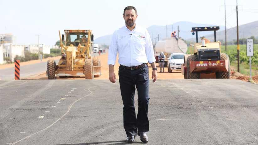 Avanza autopista Zacatecas-Aguascalientes; cumple Tello su compromiso de dar mayor conectividad al estado.