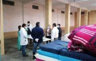 Lleva SEDIF cobijas a albergue instalado en la comunidad Toribio, luego de granizada.