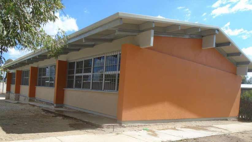 Cumple Tello con obras educativas y sociales de calidad a pobladores de Pánfilo Natera.