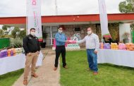Empresa Jalpense dona a SEDIF 10 mil cubrebocas para personas en condiciones de vulnerabilidad