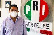 Ante  avance de la pandemia, el PRI  insiste a militantes usar cubrebocas y cuidarse.