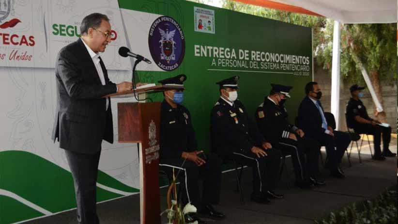 Con presea Sergio García Ramírez, reconoce Federación al Sistema Penitenciario de Zacatecas.