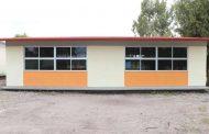 Consolida Miguel Torres Rosales infraestructura educativa.