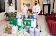 Entregan equipo sanitario a personal de funerarias ISSSTEZAC.