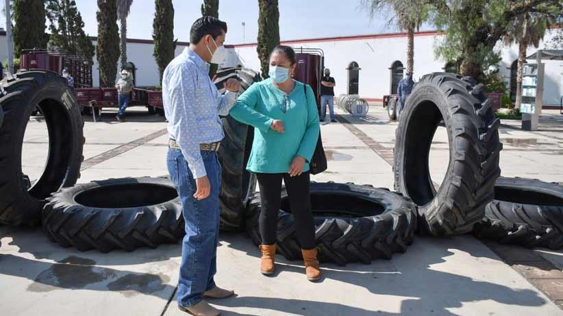 Los hombres y las mujeres de campo son un verdadero orgullo para el municipio de Guadalupe: Julio César Chávez