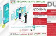 Realizará Gobierno Estatal Jornadas de Reclutamiento Virtual para Concepción del Oro.