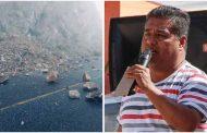 Deslaves de carretera a Mazapil se retirarán en cuanto concluyan estas lluvias: Abelardo González Pardo