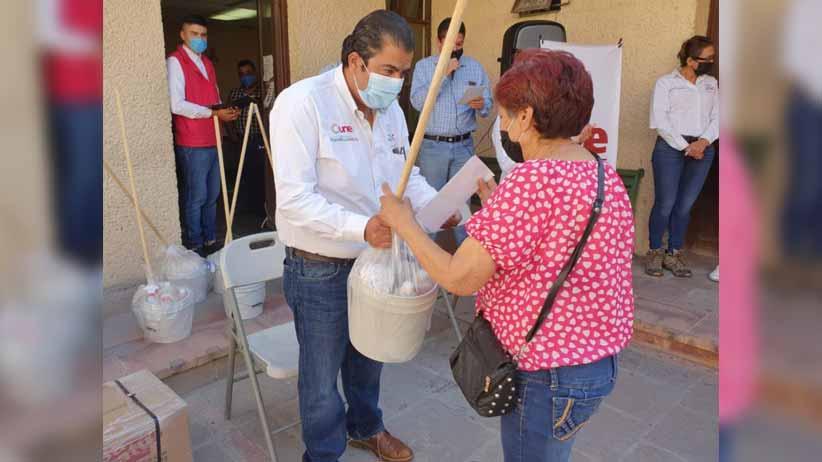Lleva Gobierno de Alejandro Tello beneficios a pobladores de Concepción del Oro