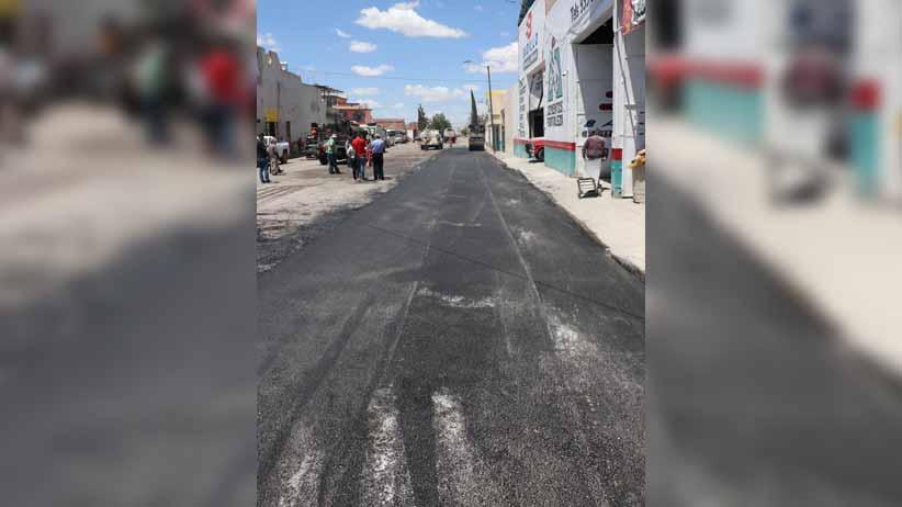 Saúl Monreal arranca trabajos de pavimentación en la Colonia Luis Donaldo Colosio