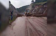 Carretera a Mazapil limpia y transitable
