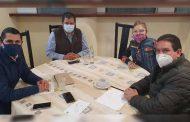 Analizan aspirantes priistas y el presidente Uribe términos del próximo consejo político estatal