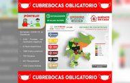 Acumula Zacatecas 1885 casos positivos de COVID-19