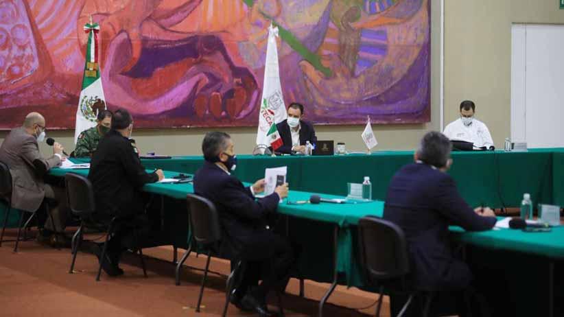 Grupo de Coordinación Local, en sesión permanente para coadyuvar en el combate a la pandemia