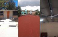 Con más de mil obras para Zacatecas, Gobernador dignifica escuelas de Florencia de Benito Juárez