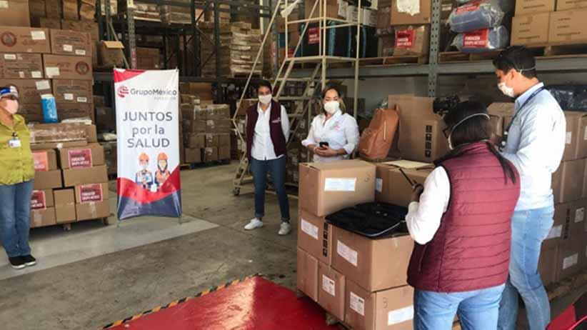 Dona Fundación Grupo México más de 44 mil insumos a la Secretaría de Salud de Zacatecas