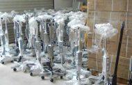 Llegan a Zacatecas 110 bombas de infusión volumétrica; reforzarán atención a pacientes con COVID-19