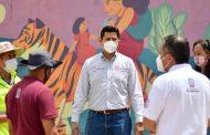Supervisa Julio César Chávez, jornada de limpieza en Gavilanes