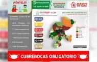 Registra Zacatecas 110 nuevos contagios y acumula 3 mil 277 casos positivos de Covid-19