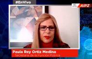 En Vivo| Entrevista con Paula Rey Ortiz Medina,Secretaria de la Función Publica