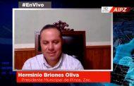 En Vivo | Entrevista con Herminio Briones Oliva,Presidente Municipal de Pinos, Zac.